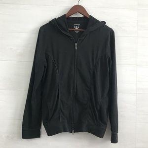 Zenergy Chicos SZ 2 Stretchy Thin Knit Zip Jacket